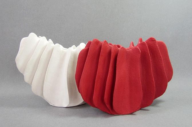 "Sabine Martin: Keramikobjekte,""ohne Titel"", Foto: Sabine Martin"