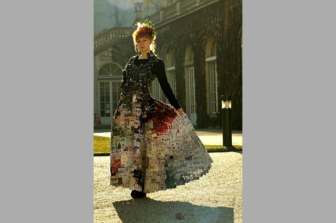 Kleid, Foto: Eckard Jonalik