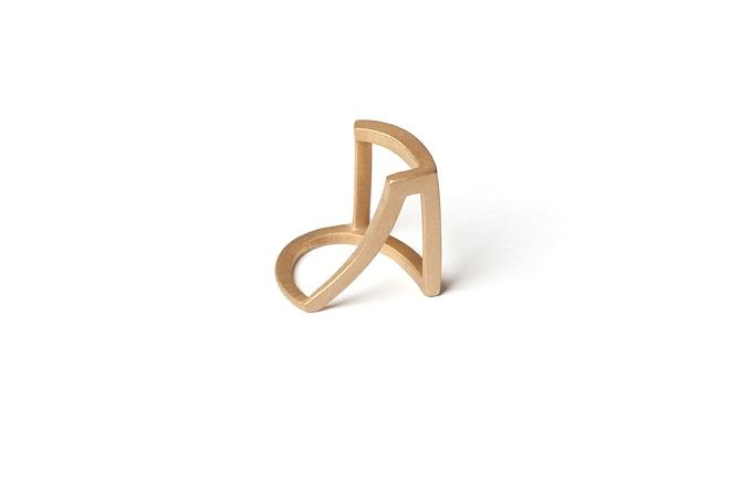 Ring (Silber vergoldet), Foto: Christian M. Weiss