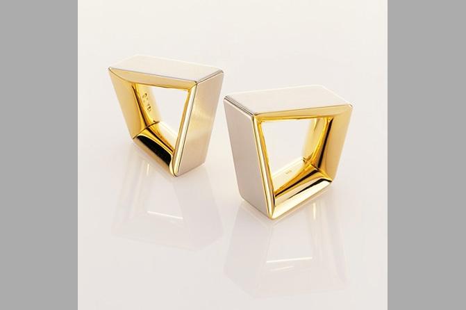 "Ring Objekte ""Angle Square"", Foto: Matthias Hoffmann"