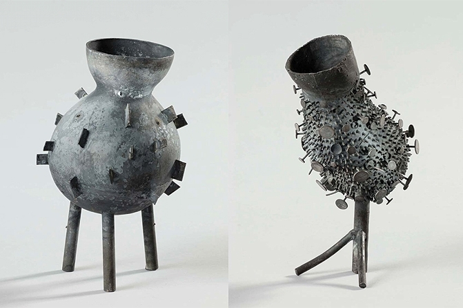 Silberskulpturen, Fotos: Jürgen Baumann