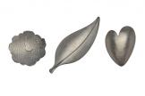 Broschen, 925/-Silber, geschmiedet